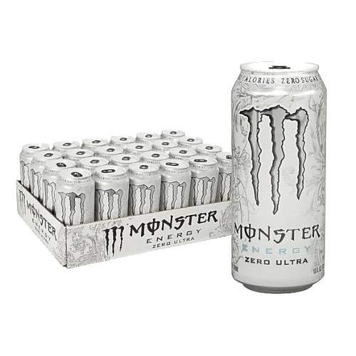 MONSTER ENERGY Monster Ultra-12 x 500 ml Weiß PMP