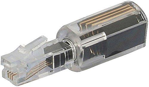 Callstel Kabelentwirrer: Verdrehschutz Twist-Stop für Telefonhörer-Kabel, schmale Ausführung (Verdrehschutz für Telefonkabel)