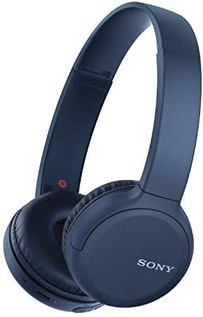 Sony Wireless Headphones WH CH510 Wireless Bluetooth On Ear Headset with Mic for phone call product image