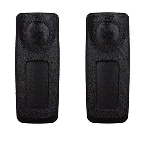 IPOTCH 2 Piezas de Radio Bidireccional Walkie Talkie Cubierta de Protección de Clip de Cinturón de Metal para DP3400, DP3401, DP3600, DP3601