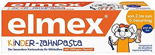 Dentifricio per bambini Elmex, confezione da 6 (6 x 50 ml)