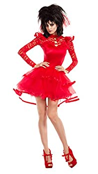 Party King Women s Beetle Bride Costume Red Small