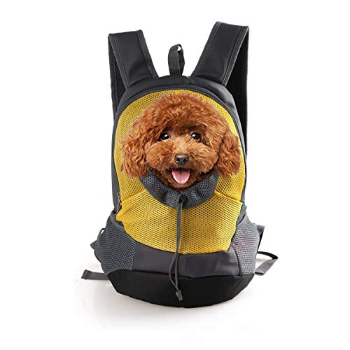 PETCUTE Mochila para Perros Medianos Transportín
