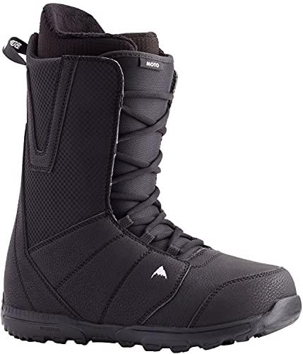 BURTON Moto Lace Mens Snowboard Boots Sz 11 Black