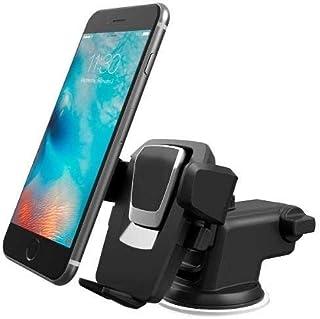 Suporte Veicular Celular Smartphone Painel Vidro Trava Automática New-long Braço Extensor