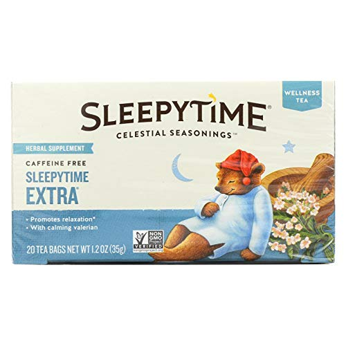 Celestial Seasonings Sleepytime extra tea for falling asleep
