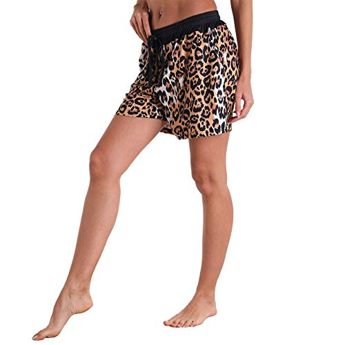 Janly Clearance Sale Pants for Women , Women's Beach Surfing Fitness Outdoor Leisure Sports Home Yoga Ladies Shorts , Easter St Patrick's Day Deal (Gold-M)