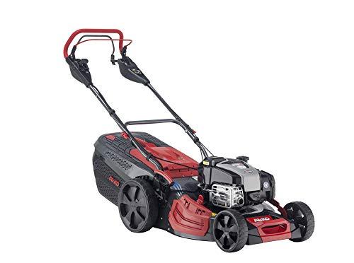 AL-KO Benzin-Rasenmäher Premium 520 VSI-B, 51 cm Schnittbreite, 2.6 kW Motorleistung, robustes Stahlblechgehäuse, Hinterradantrieb variabel einstellbar, Mulchfunktion, Seitenauswurf, Elektrostart
