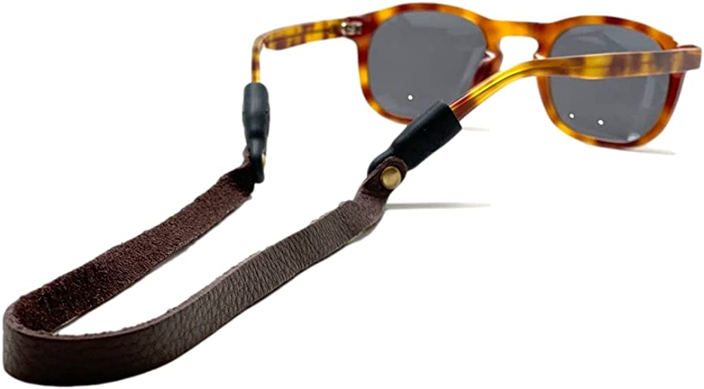 Sounders Original Leather Sunglass Strap - Montauk