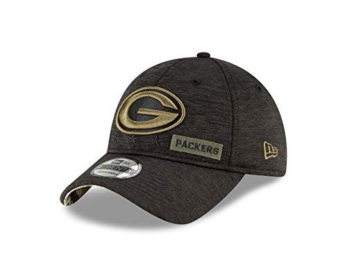 New Era Green Bay Packers - 9twenty Cap - Salute to Service 2020 - Black - One-Size