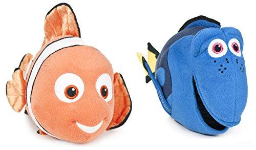 Buscando a Dory - Pack 2 peluches Nemo y Dory (12