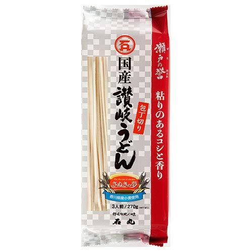 石丸製麺 瀬戸の誉 讃岐うどん 包丁切り 270g×12袋入×(2ケース)