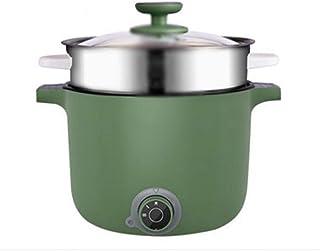 CJTMY Petit Pot ménagers Multifonctions Hot Pot Noodle Marmite électrique for Chambre avec intégré Petit Pot électrique