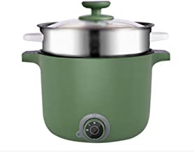 ZYSWP Small Pot Multifunctional Household Hot Pot Noodle Cooking Electric Pot for Bedroom with Integrated Small Electric Pot
