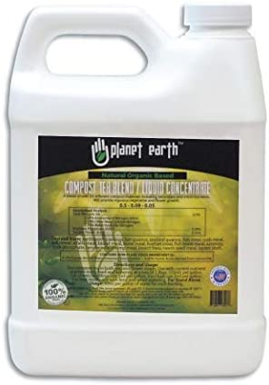 Planet Earth Natural Organic Based Compost Tea The Ultimate Organic Fertilizer Triple Filtered product image