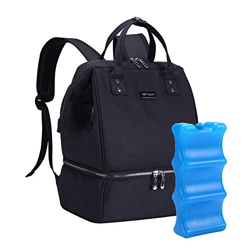 1 pcs Ice Pack with GOGOSO Breast Pump Bag for Breastfeeding Mom Travel Bag Best Choice for Baby Shower Gifts