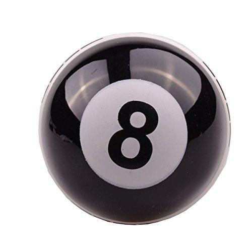 Aby - Pommeau de levier de vitesse universel en forme de boule de billard 8