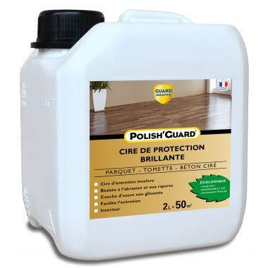 Guard Industrie-Cera Protección multi-Suports Polish'Guard – Efecto brillante – Parquet cemento cemento plástico – 2L – Trata 50 m2