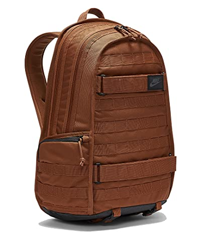 Nike RPM Backpack Rucksack (one size, pecan/black)