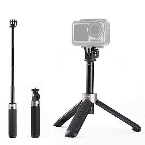 PGYTECH Mini Stativ Action Kamera Stativ mit Verlängerungsstange für Gopro 9/8/7, DJI OSMO Action/Tasche, XiaoYi, Insta360, Feiyu Tasche 162 x 29 x 29 mm