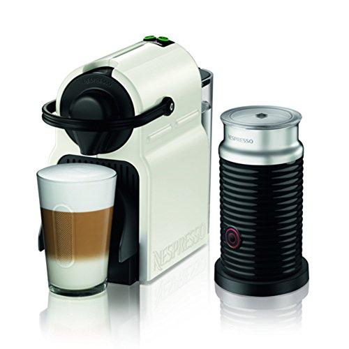 Nespresso Nespresso-Kaffeemaschine Bundle Set weiß Nespresso Inissia (Inisshia) C40WH-A3B