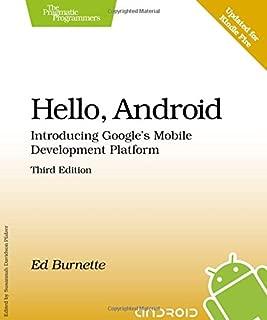 Hello, Android: Introducing Google's Mobile Development Platform (Pragmatic Programmers)