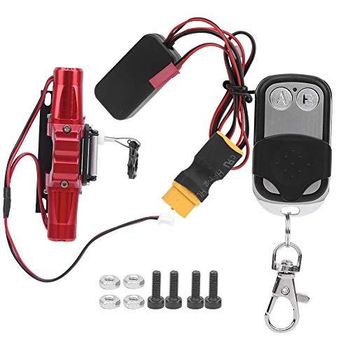 Cerlingwee Control Remoto de cabrestante de Motor Dual Control Remoto de cabrestante RC Control Remoto Peso Ligero para niños de Carreras RC al Aire Libre