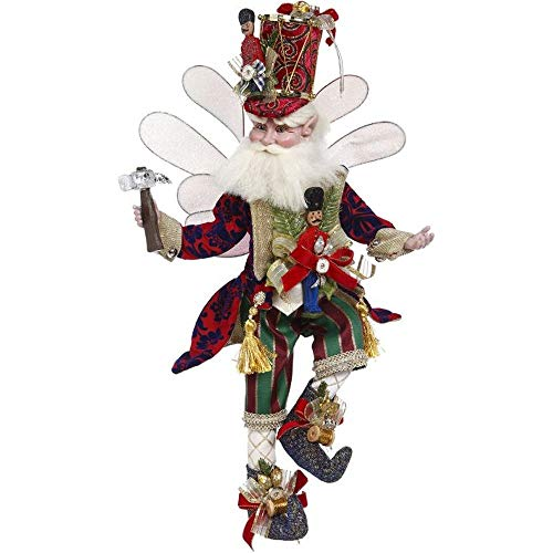 Mark Roberts 2020 Limited Edition Collection Toymaker Fairy Figurine, Medium 17.5'' - Deluxe Christmas Decor and Collectible
