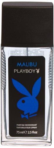 Playboy Malibu Deodorant Spray 75 ml, 2er Pack (2 x 75 ml)
