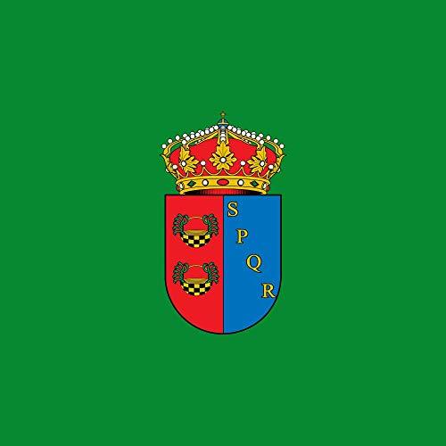 magFlags Bandera Large Carcaboso Bandera Cuadrada | 1.35m² | 120x120cm