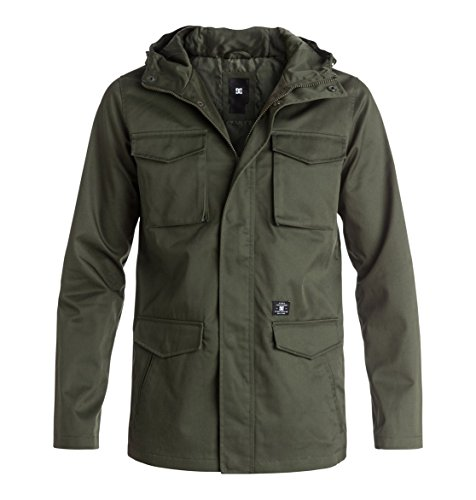 Mastadon 3 Jacken für Männer von DC Small Fatigue Green