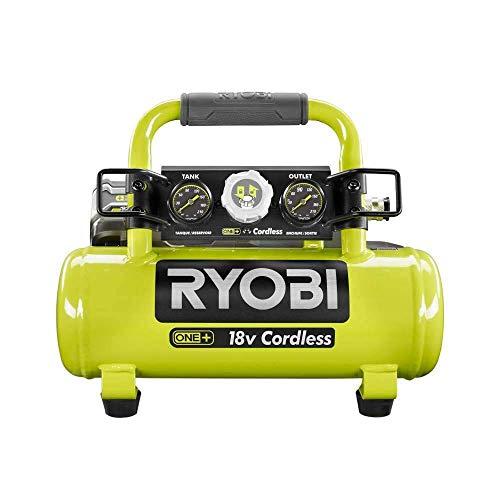 Ryobi 18-Volt ONE+ Cordless 1 Gal. Portable Air Compressor (Tool Only) (Renewed)