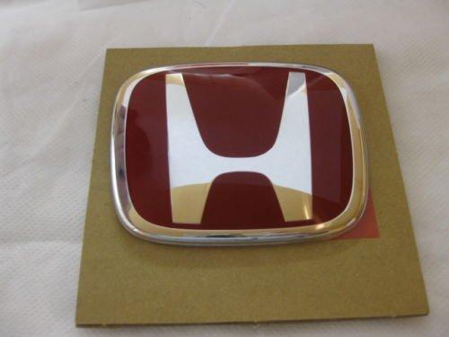 FRONT LOGO JDM RED Honda Emblem 123mmX100mm
