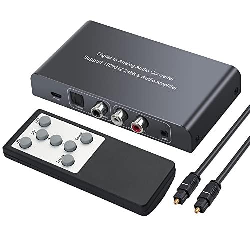 Neoteck DAC Convertidor Digital a Analógico Audio Conversor Coaxial...