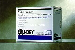 Exu-Dry Gauze Dressing, 6 Inch X 9 Inch, Non-Adherent, Smith Nephew 5999006 - Single Bandage