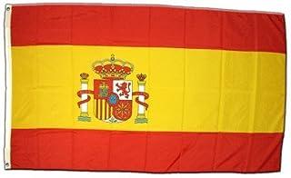 MM Spaanse vlag, weerbestendig, meerkleurig, 250 x 150 x 1 cm, 16279