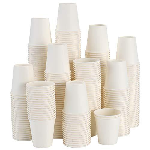 [ 300 Pack 3 Oz ] Paper Cups, Paper Cups 3 Oz Mouthwash Cups, Small Paper Cups 3 Oz Bathroom Paper Cups 3 Oz Paper Cups 3 Oz Bathroom Paper Cups 3 Oz Mouthwash Cups Rinse Cups, Paper Bath Cups