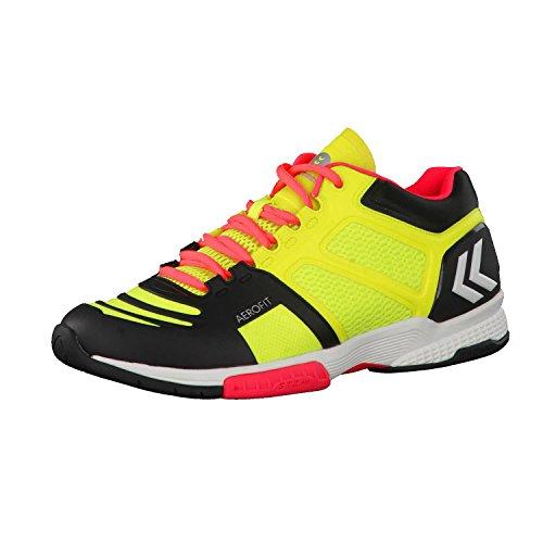 Hummel Herren Handballschuhe Aerocharge HB 220 60402 Safety Yellow/Black 44