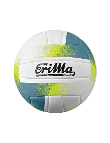 Erima Herren Allround Volleyball, weiß/blau, 5