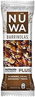 Barras de Superfoods de Cacao, almendra, arándano y menta (24 pz)