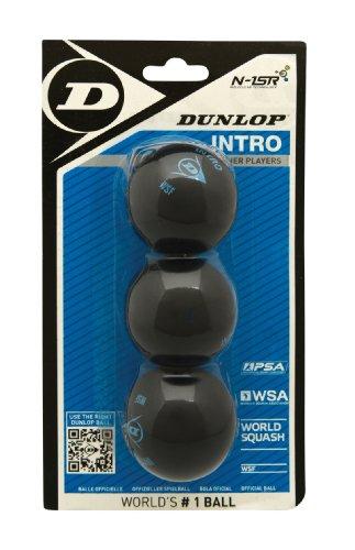 Dunlop Squashbälle, 3 Stück