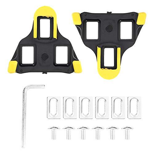Ponacat 1 Paar Fahrradabdeckung Gummiabdeckung Kompatibel mit Shimano SPD-SL für Rennrad Rennrad Pedal Cleat Set rutschfest