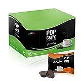 100 CAPSULE POP CAFFE' E-MIO 1 INTENSO COMPATIBILI LAVAZZA A MODO MIO
