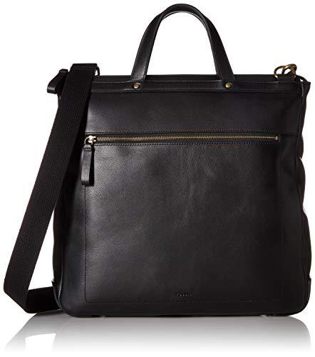 Fossil Men's Haskell Ns Workbag Laptop Bag Black One Size