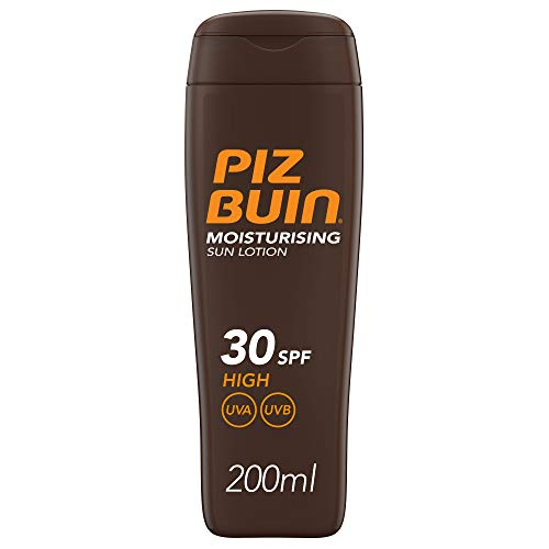 Piz Buin - Protección Solar, Moisturising Loción Solar Hidratante SFP 30 -...