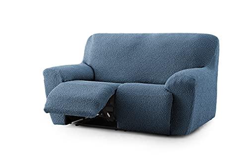 Funda sofá Relax Bielástica Strong (Sofá Relax 3 Plazas, Azul)