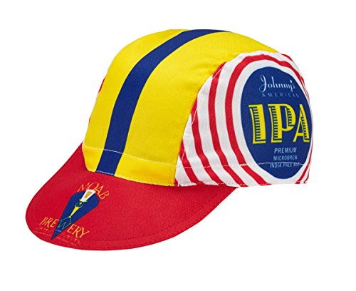World Jerseys Men's Cycling Cap Moab Brewery Johnny's IPA Multicolored