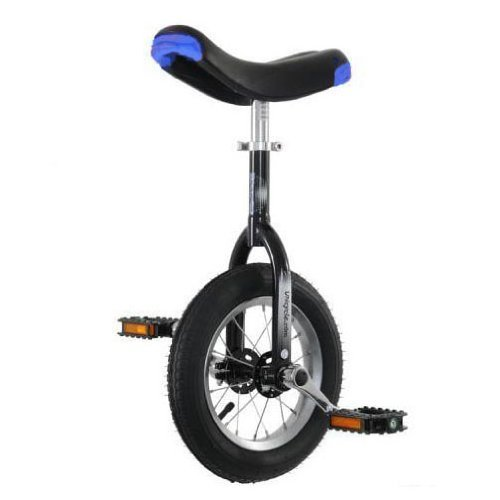 Best Review Of Hoppley 12 Unicycle - Perfect Starter Uni - Black