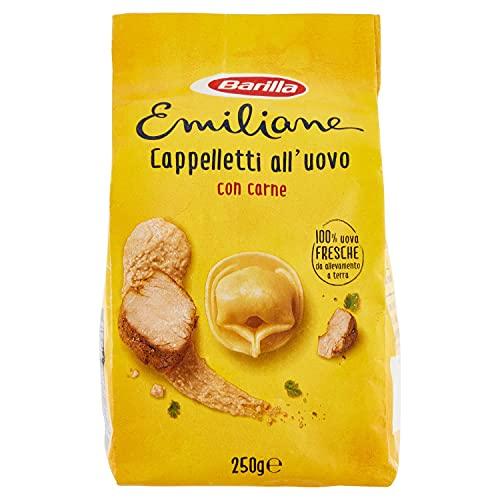 Barilla Le Emiliane Cappelletti alla Carne Pasta all'Uovo Ripiena, 250g