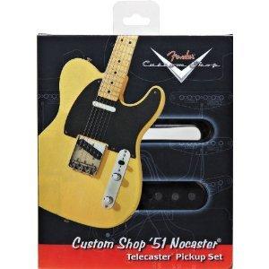 Fender 099-2109-000 Set Pickup Tele Nocaster Custom Shop '51 - Nero e Nichel